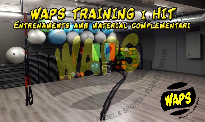 Entrenaments WAPSTRAINING i HIT – El material complementari